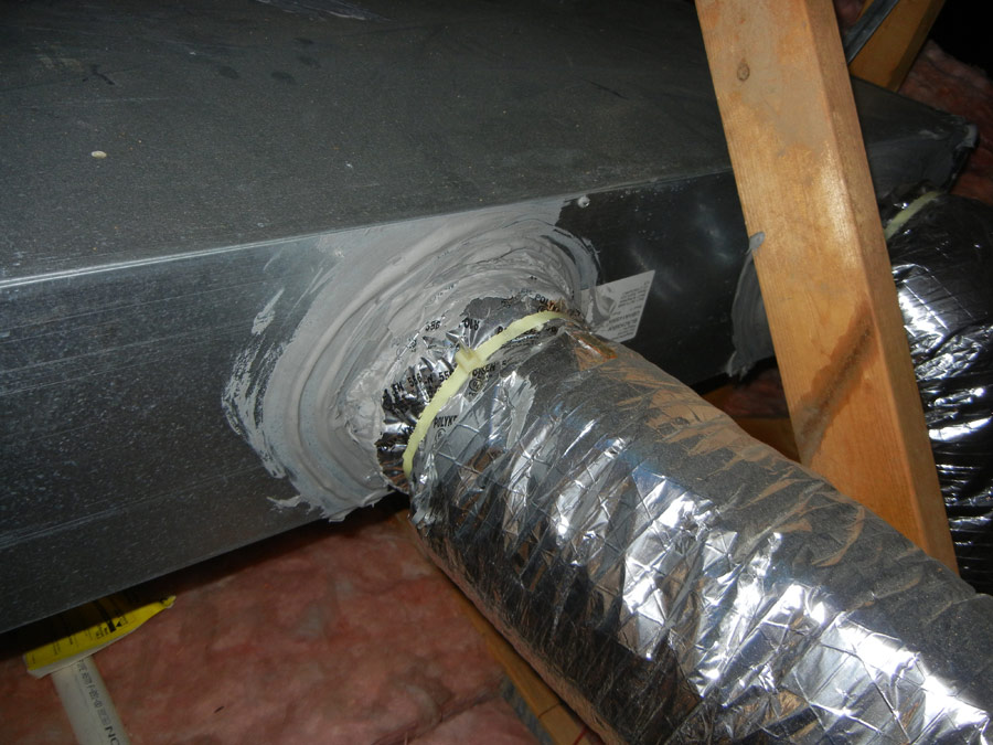 Duct Sealing Econo Therm Insulation Company